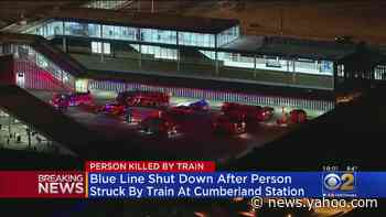Blue Line Shut Down After Person Struck By Train At Cumberland Station - Yahoo News