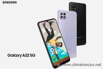 Samsung Galaxy A22 4G & 5G vorgestellt - viel Marketing für 5G ! - ChinaHandys.net