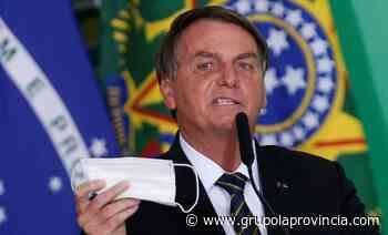 Multaron a Bolsonaro en San Pablo por no usar barbijo en un acto público - Grupo La Provincia