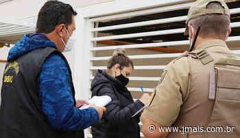 Blitz da covid fiscaliza isolamento de casos positivos em Canoinhas - JMais
