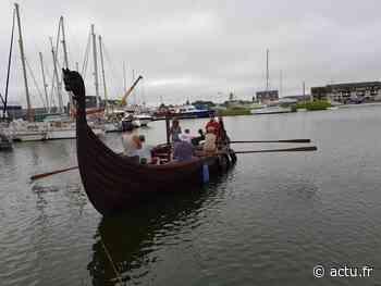 Un drakkar et un camp viking à Ouistreham - Le Liberté Caen - Bonhomme Libre