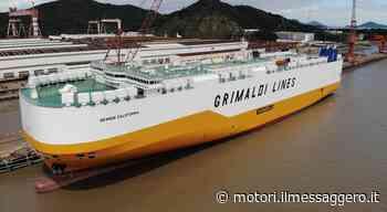 Consegnata la Grande California, naviga velocemente la svolta green di Grimaldi - Il Messaggero - Motori