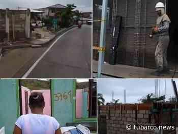 San Andrés en alerta amarilla por lluvias y la reconstrucción no avanza, gente duerme en carpas y casas sin techos - TuBarco