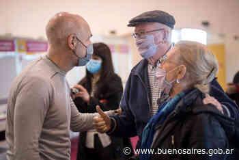 Rodríguez Larreta visitó el DetectAr del Teatro Colón, y recorrió los vacunatorios del Luna Park, La Rural y el Centro Islámico - buenosaires.gob.ar