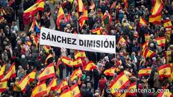 Horario y recorrido de la manifestación de Colón en contra de los indultos el 13 de junio - Antena 3 Noticias
