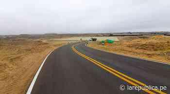 Trujillo: reconstrucción de tramo de Carretera Costanera está en 95% - LaRepública.pe