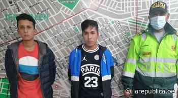 Trujillo: atrapan a dos presuntos asaltantes tras robar camioneta - LaRepública.pe