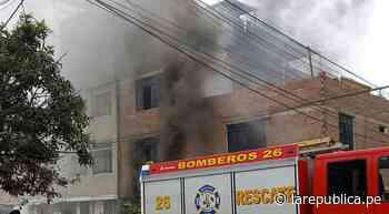 Trujillo: incendio en edificio deja afectadas a tres familias - LaRepública.pe