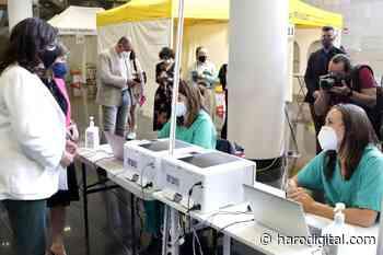 Los vecinos de la zona de Santo Domingo de 45 a 49 años serán vacunados en Riojaforum - Haro Digital