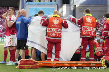 Denmark soccer player Christian Eriksen collapses during game against Finland - Omineca Express
