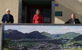 Neue Fotoleinwand schmückt die Gemeinde Molln - Kirchdorf - Tips - Total Regional