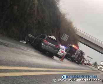 Reportan accidente en autopista Colima a Guadalajara - colimanoticias
