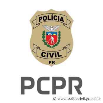 PCPR e PMPR prendem homem por pichação em Formosa do Oeste - Polícia Civil do Paraná