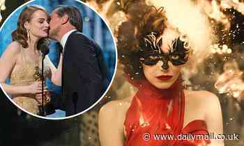 Emma Stone talks perfecting her Cruella laugh and meeting Hollywood legends