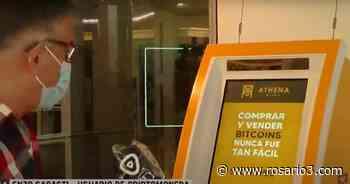 Ya funciona en Rosario el primer cajero de criptomonedas: ¿dónde está y cómo se usa? - Rosario3.com
