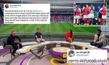 'Cut to the studio FFS!': Ian Wright among those slamming BBC coverage of Christian Eriksen collapse