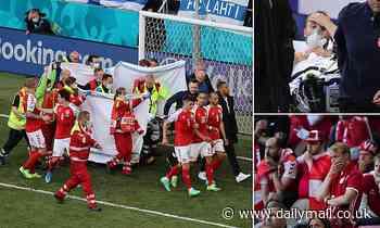 Football stunned as Denmark star Christian Eriksen collapses during Euro 2020 game against Finland
