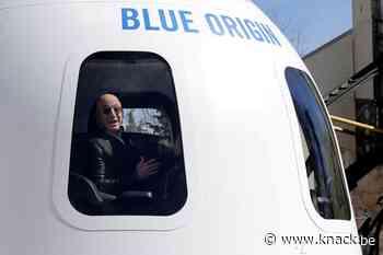 Jeff Bezos verkoopt kaartje voor reis met zijn ruimteschip voor 23 miljoen euro
