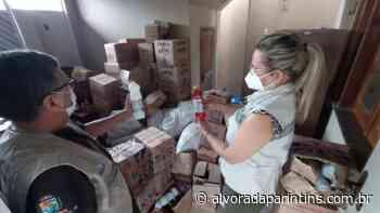 Uma tonelada de produtos e alimentos são apreendidos em Parintins - Alvorada Parintins