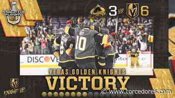 Vegas Golden Knights vencem Colorado Avalanche novamente e se classificam para o final 4 da NHL - Torcedores.com