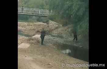 Localizan cadáver en descomposición en río de Zinacatepec - Municipios Puebla