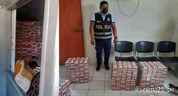 Tumbes: 60 mil cigarrillos de contrabando son incautados en camarote de ómnibus - Diario Perú21