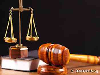 Trial Of Abia Sanitation Exercise Offenders Stalled - LEADERSHIP NEWS