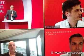 SPD-Kanzlerkandidat besucht Vogtland virtuell - Freie Presse