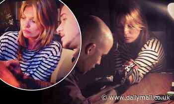Kate Moss 'has begun training to become a tattoo artists with her pal Daniel'