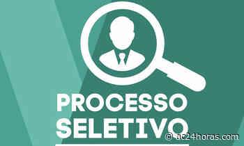 Prefeitura de Cruzeiro do Sul divulga processo seletivo - ac24horas.com