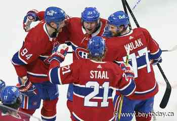 Islanders-Lightning, Knights-Canadiens in uncertain final 4