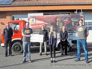 Rallye-Team der Feuerwehr Borchen erzielt 1100 Euro Spendengeld für die Jugendfeuerwehr: Mit dem Oldtimer quer durch Deutschland - Borchen - Westfalen-Blatt - Westfalen-Blatt