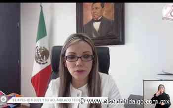 El TEEH amonesta a la alcaldesa de Actopan - El Sol de Hidalgo