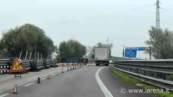 Nuovo asfalto in Transpolesana, chiude lo svincolo di Legnago - L'Arena