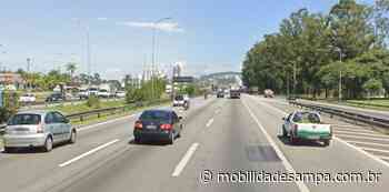 Acidente deixa tráfego lento na rodovia Castelo Branco em Barueri - Mobilidade Sampa