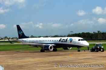 Após adequações no aeroporto, Azul volta a operar em Parintins - Alvorada Parintins