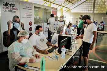 População de Penedo começa a ser imunizada contra Covid com vacina da Pfizer - Boa Informação