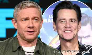 Martin Freeman slams Jim Carrey for his method acting in film Man on the Moon - Daily Mail