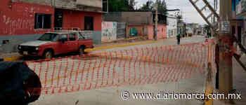 Con bloqueo piden luminarias en Santa Lucía - Diario Marca de Oaxaca