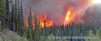 Lac–Saint-Jean: les feux menacent des infrastructures