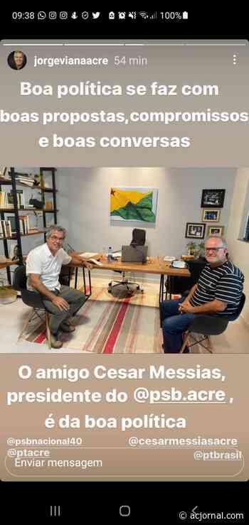 """""""César Messias não aceita o sucesso de Gladson"""", volta aos braços do PT e se distancia da família e dos eleitores do Juruá - AC JORNAL"""