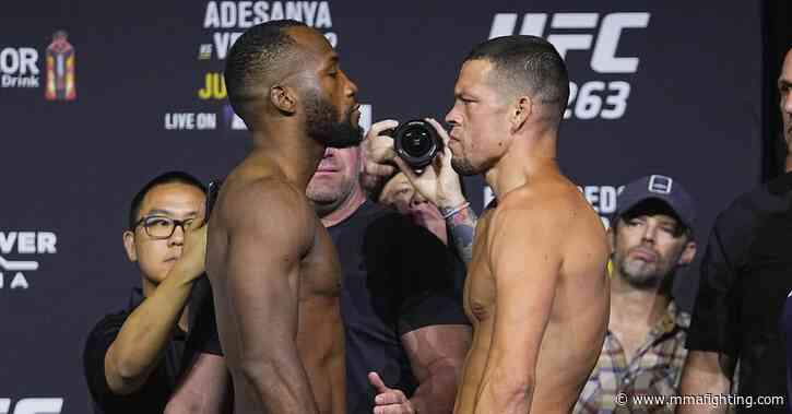 UFC 263 live blog: Leon Edwards vs. Nate Diaz