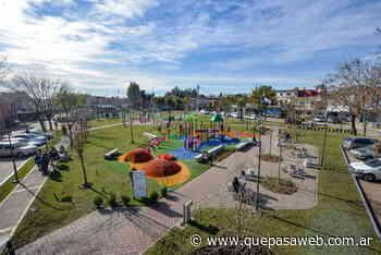 Se inauguró la nueva Plaza Barrio San Martín en San Fernando - Que Pasa Web