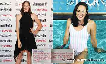Gold medal-winning swimmer Cate Campbell reveals how a heartfelt letter saved her Olympic career