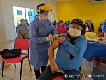 En la Villa de Merlo citaron a 600 personas para recibir segundas dosis - Agencia de Noticias San Luis