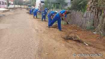 Secretaria de Obras de Itaperuna atende mais de 15 endereços em uma semana. - Defesa - Agência de Notícias