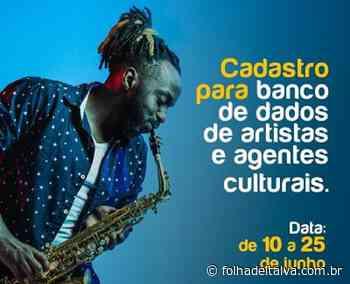 Cadastramento de artistas e agentes culturais de Itaperuna já começou - Folha de Italva