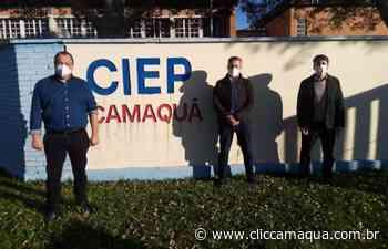 Escola de Camaquã desenvolve projeto de horta comunitária - Clic Camaquã - Portal de Notícias