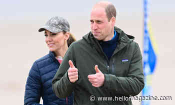 Prince William shares well wishes in rare personal tweet – fans react - HELLO!
