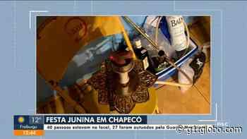 Guarda municipal encerra festa junina irregular com cerca de 40 pessoas - G1